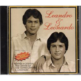 Cd Leandro & Leonardo - 1º Disco Da Dupla 1983