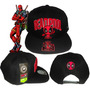 Snapback Gorra Plana Cap Deadpool Marvel Titotoys