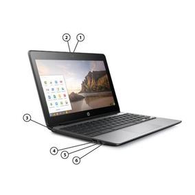 Hp Cromebook 11 G5 N3060 16ssd 2gb 11.6