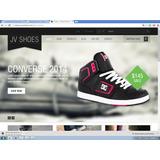 Loja Virtual - Jv Shoes Joomla Template