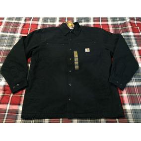 Chamarra Tipo Camisa Carhartt Negra - Mod 101466