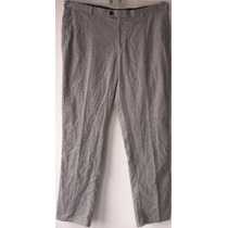 Pantalón Vestir Peter Millar Gris Big Men