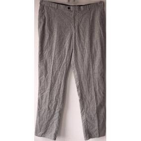 Pantalón Vestir Peter Millar Gris Big Men
