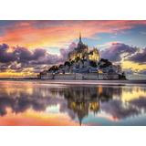 Magnifico Monte Saint Michel Rompecabezas 1000 Pz Clementoni