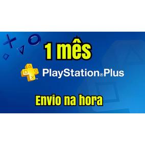 Playstation Plus 28 Dias 1 Mês Ps4 Envio Imediato 24hr