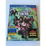 Escuadrón Suicida. Blu Ray+blu Ray 3 D+copia Digital. Import