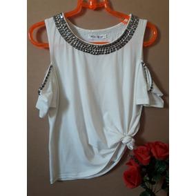 Blusa Blusas Bordadas Pedrarias Linda Moda Blogueira