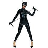 Disfraz Mujer Gatubela Gata Halloween Talla Única Dd195
