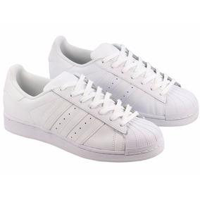 Zapatillas adidas Superstar Blancas Unisex Nuevas En Caja