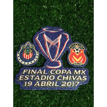 Parche Final Copa Mx. Chivas Vs Morelia. Chivas Campeon.