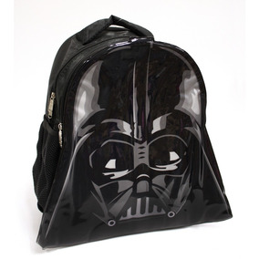 Mochila Disney Star Wars Darth Vader 2 Compartimentos Negro