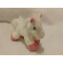 Caballo Pony Miniflopsie Patita Rosa 19cms Largo