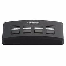Selector De Audio Y Video De 4 Vías Radioshack