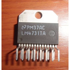 Lm4731 Stereo 25w Audio Power Amplifier