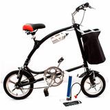 Bicicleta Plegable Aro 14 Y 12 Baiku Marco, Timon Y Pedales