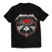 Camiseta Metallica Master Of Puppets Rock Activity