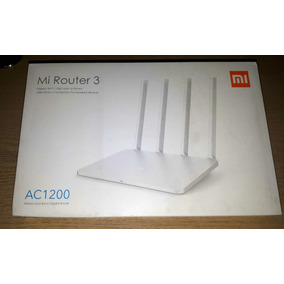 Roteador Xiaomi Mi Wifi Router 3 Ac1200 - Branco