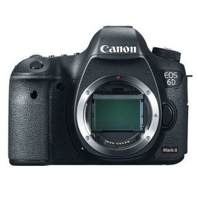 Camera Dslr Canon Eos 6d Mark Ii 2 Somente Corpo Lançamento