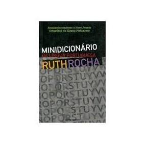 Minidicionário Da Língua Portuguesa Ruth Rocha Livro