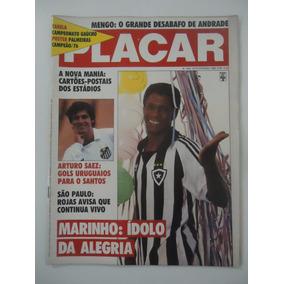 Placar #924 Poster Do Palmeiras Campeão Paulista De 1976
