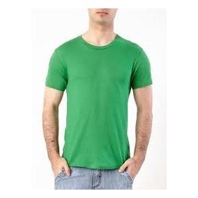 Camiseta Algodão Básica Até Tam Gg