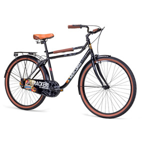 Bicicleta Urbana Unisex Tracker Rodada 26 Equipada 2018