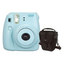 Câmera Instantânea Fujifilm Instax Mini 8 Azul + Estojo