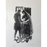 Vasco Prado - Serigrafia - Série Dom Quixote