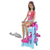 Barbie I Can Be Salvavidas Afroamericano Playset