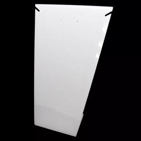 05 Expositor Acrílico Vitrine Placa L 1 Colar Grande Branco