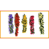 Flores Artificiales Lilios Colgantes 80 Cm