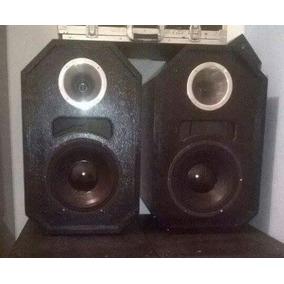 Equipamento De Som Para Dj, 2 Caixas De Som + Potencia Mhs