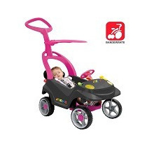 Mini Veículo Smart Baby Comfort Passeio Carro Criança Rosa