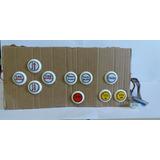 Interface+chicote+10 Botões P/ Maquina De Musica Jukebox
