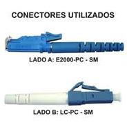 Cordão Óptico Lc-pc / E2000-pc 15 Mts Simplex Monomodo