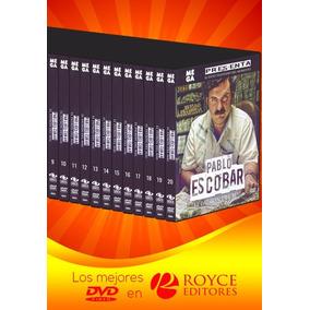 Pablo Escobar El Patrón Del Mal 20 Dvds