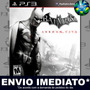 Batman Arkham City - Ps3 - Psn - Legendas Em Português !!