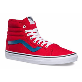 Tênis Vans Sk8 Hi Reissue Canvas Racing Feminino.