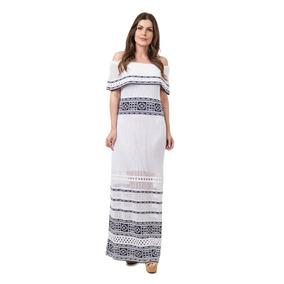 Vestido Longo Femininos Tricot Com Fenda Madrinha Casamento