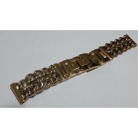 Pulseira Guess Aço Dourado - 20mm - Única