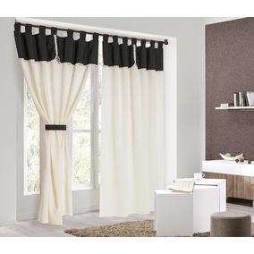 Cortinas en once cortinas convencionales en mercado for Cortinas para cocina rustica