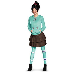 Disfraz Para Mujer Adulto Deluxe Vanellope Von Schweetz Ves