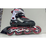 Rollers Boissy Inertie Black/red