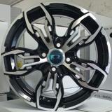 Roda Aro 14 Krmai K61 Black Diamond