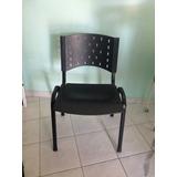 Cadeira De Ferro/plástica Empilhável Fixa - Retirar Esteiors