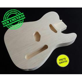 Corpo Guitarra Similar Ao Mod. Telecaster Madeira Marupá