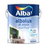 Esmalte Sintetico Albalux Al Agua Negro 1/2 Lt - Pisano