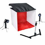 Estudio Fotográfico Kit Portatil Caja De Luz Cubo