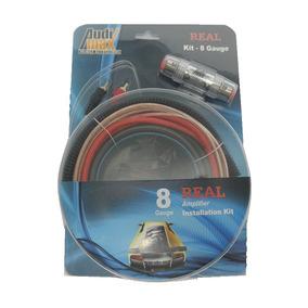 Kit De Instalación Cable Calibre 8 Audimax Accesorios Econom