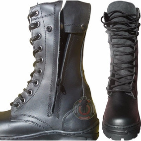 Bota Militar Táctica 100% Piel Hombre Trabajo Comando